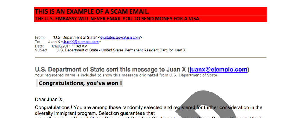 Scam Mail