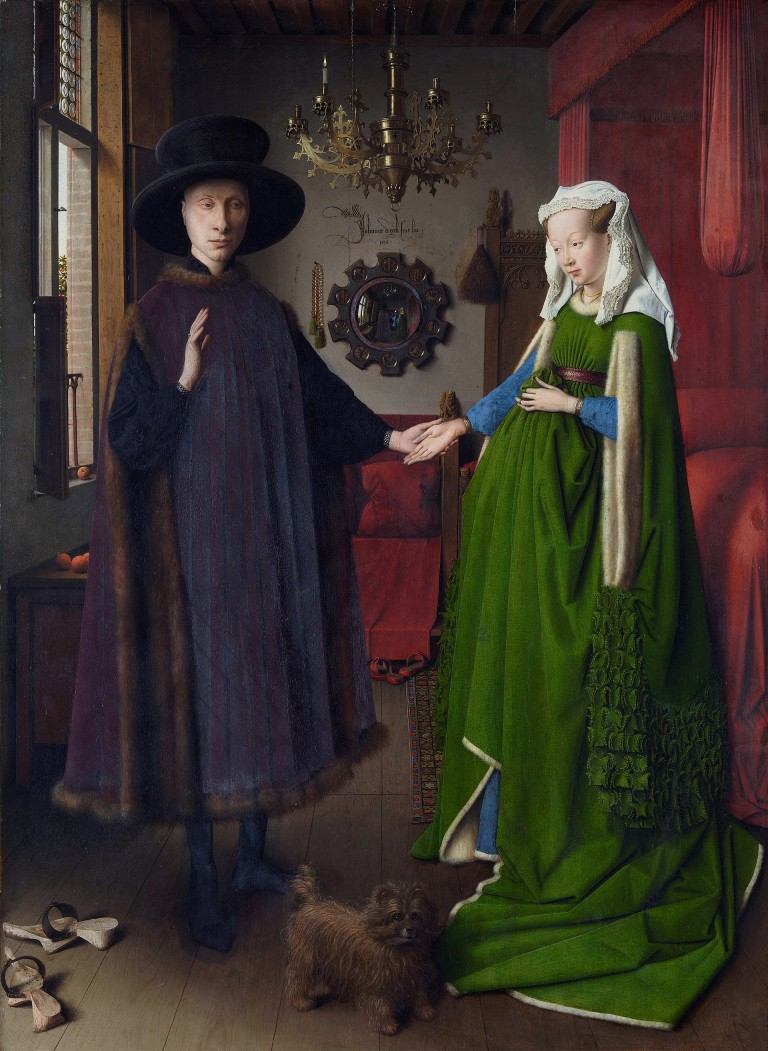 arnolfini wedding portrai Find great deals on ebay for jan van eyck's arnolfini wedding portrait shop with confidence.